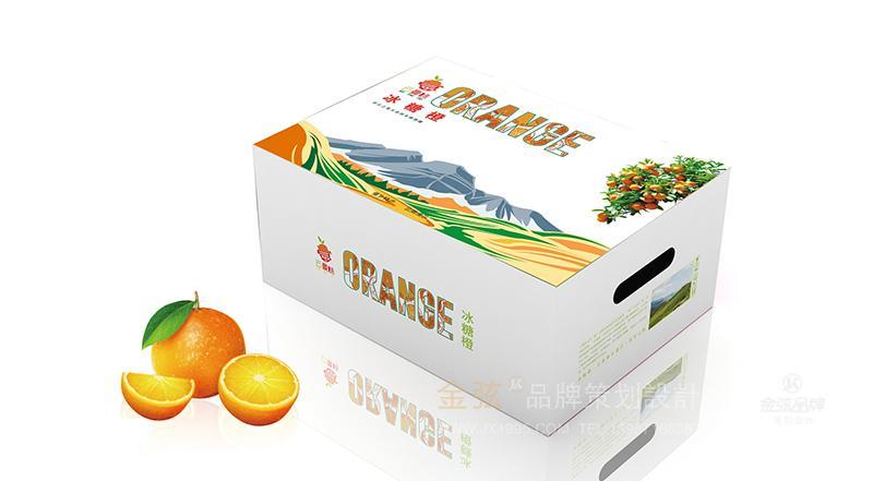 昆明冰糖橙包装设计 水果包装设计 包装设计 未命名  第4张