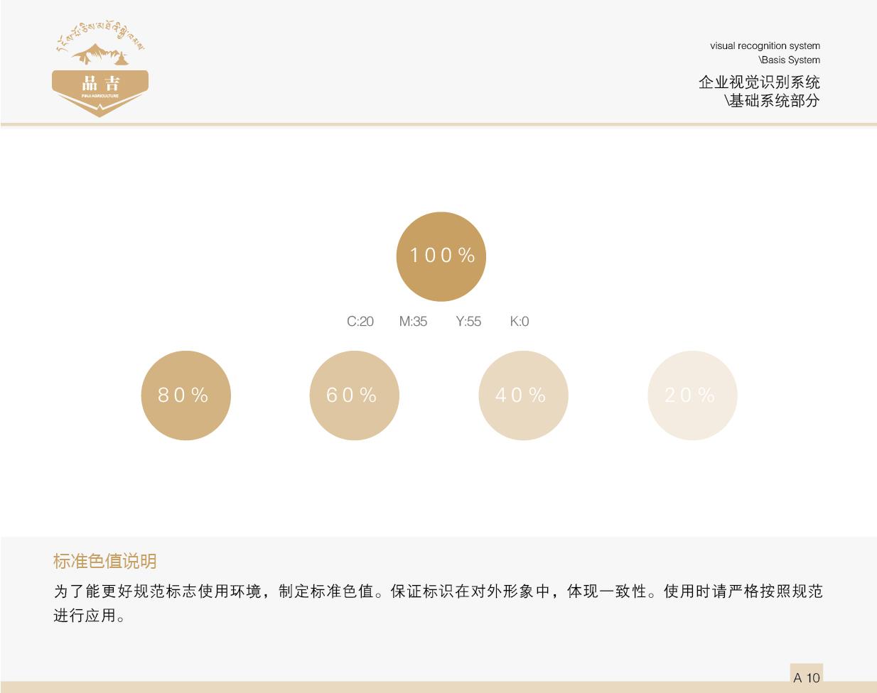 品吉农业VI 基础系统部分  客户资料  第11张