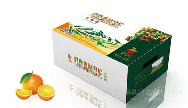 昆明冰糖橙包装设计_水果包装设计