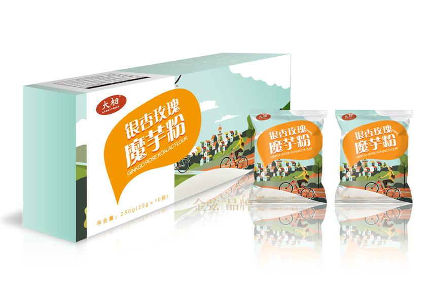设计图片欣赏-昆明代餐粉包装设计-昆明食品包装设计-金弦包装设计
