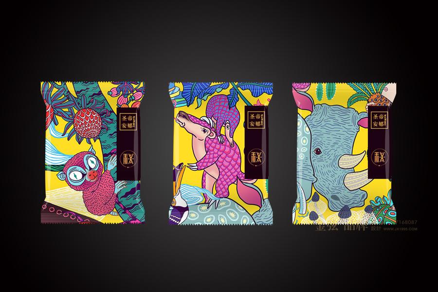 圣帝安娜月饼包装 包装设计 客户资料  第6张
