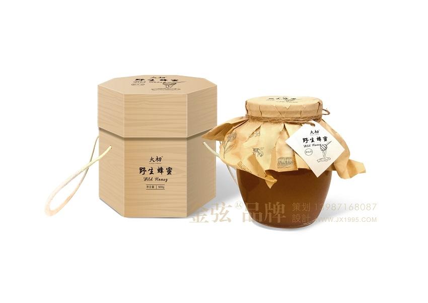 昆明野生蜂蜜包装设计 大初野生蜂蜜包装设计图片 昆明金弦包装设计 包装设计 未命名  第1张