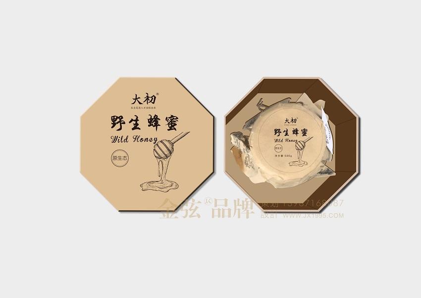 昆明野生蜂蜜包装设计 大初野生蜂蜜包装设计图片 昆明金弦包装设计 包装设计 未命名  第2张