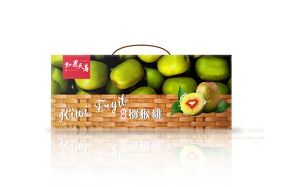 水果包装设计-昆明金弦水果包装案例