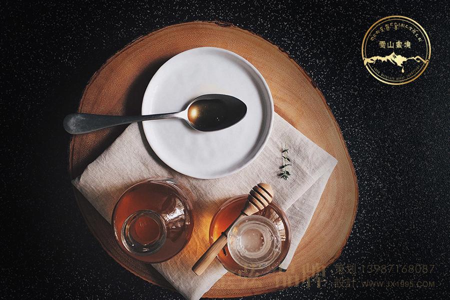 昆明logo设计 金弦蜂蜜logo案例雪山蜜境  未命名  第1张