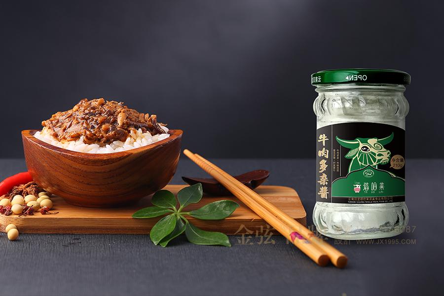 昆明罐装食品礼盒包装设计 金弦食品包装案例 包装设计 未命名  第1张