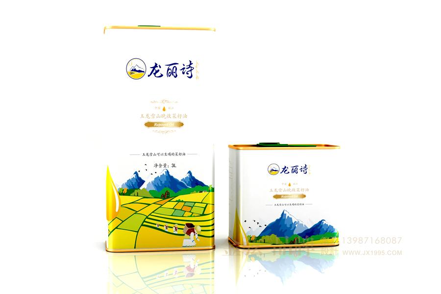 昆明菜籽油包装设计 金弦案例龙丽诗 包装设计 未命名  第3张