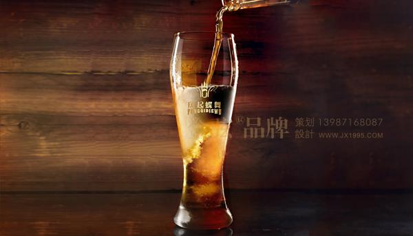 昆明logo设计13987168087-风起蝶舞啤酒logo