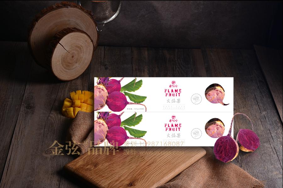 昆明农副特产包装设计 金弦火焰果包装案例 包装设计 未命名  第3张