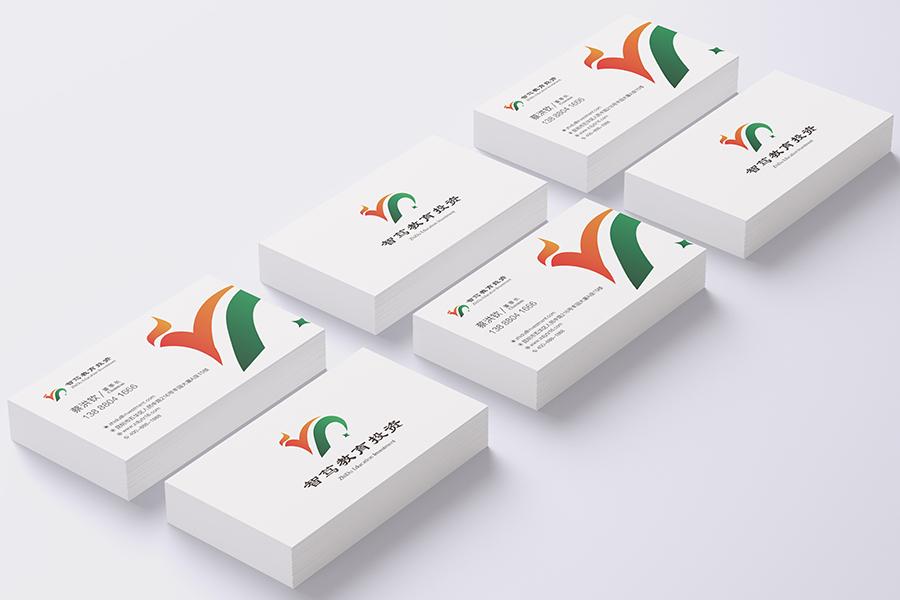 昆明logo设计 金弦案例智笃教育投资  VI标志logo设计  第3张
