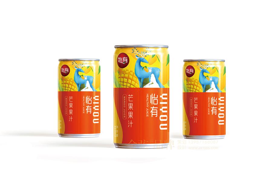 昆明饮料包装设计 金弦果汁包装设计案例怡有果汁 饮料包装设计 饮料logo设计 饮料电商设计 包装设计  第4张