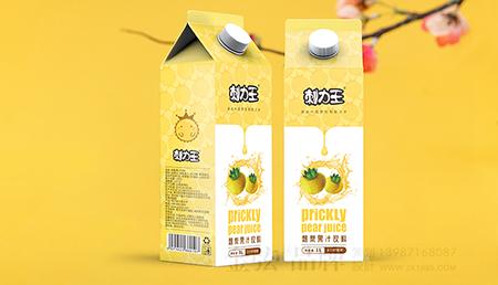 刺力王果汁包装设计