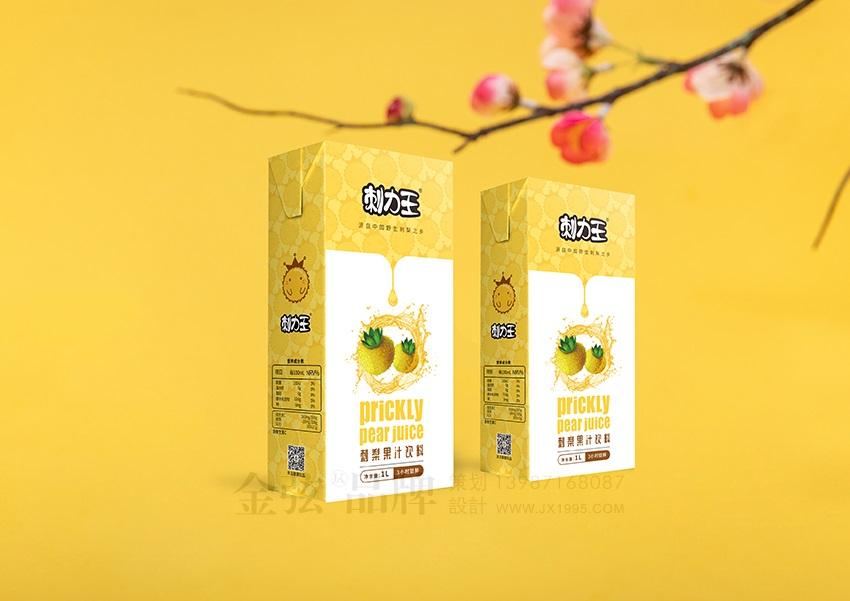 刺力王果汁包装设计 饮料包装设计 饮料logo设计 饮料电商设计 包装设计  第4张