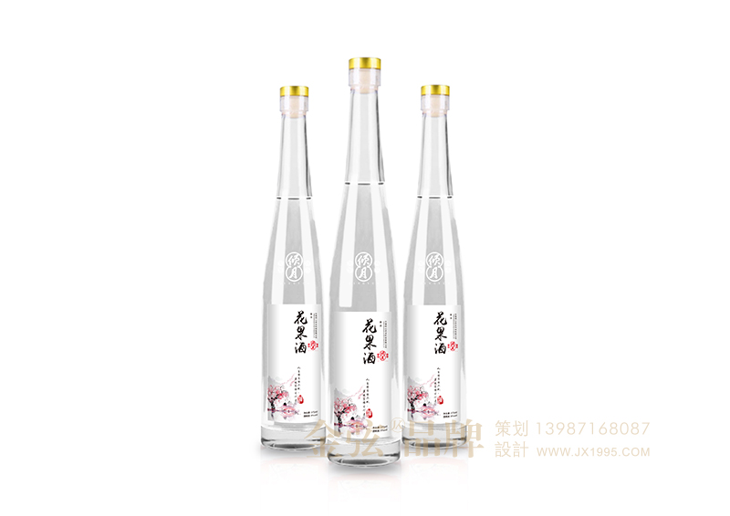 倾心花果酒包装设计 昆明特产包装设计 酒类包装设计 包装设计  第2张