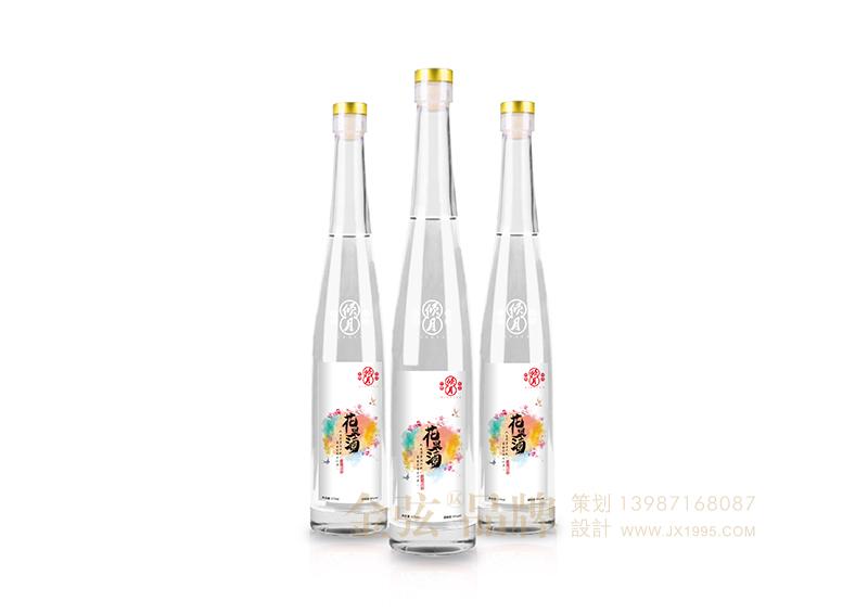 倾心花果酒包装设计 昆明特产包装设计 酒类包装设计 包装设计  第1张