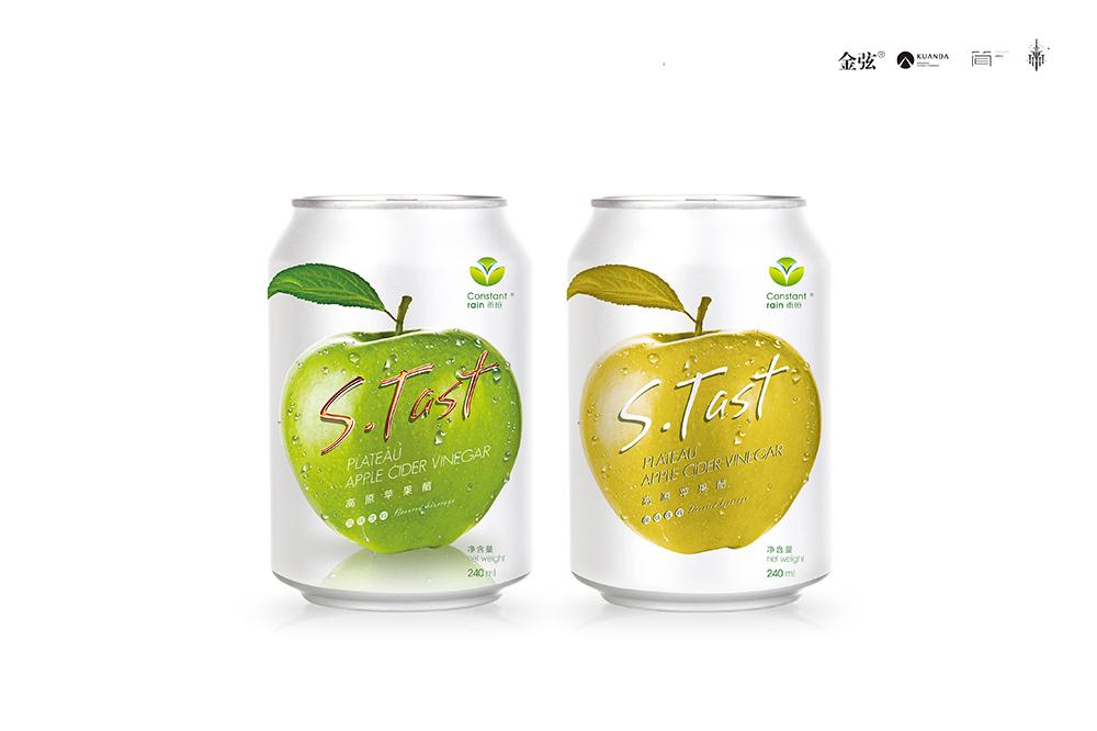 雨恒苹果醋饮料包装设计 包装设计 饮品设计 包装设计  第8张