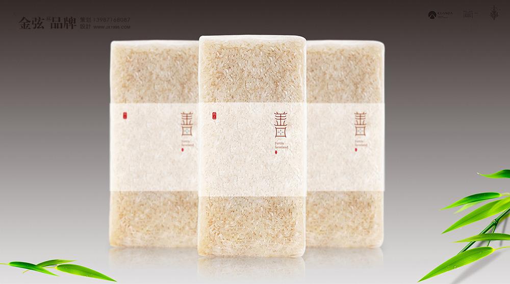 五常大米包装设计善田大米 包装设计 未命名  第6张