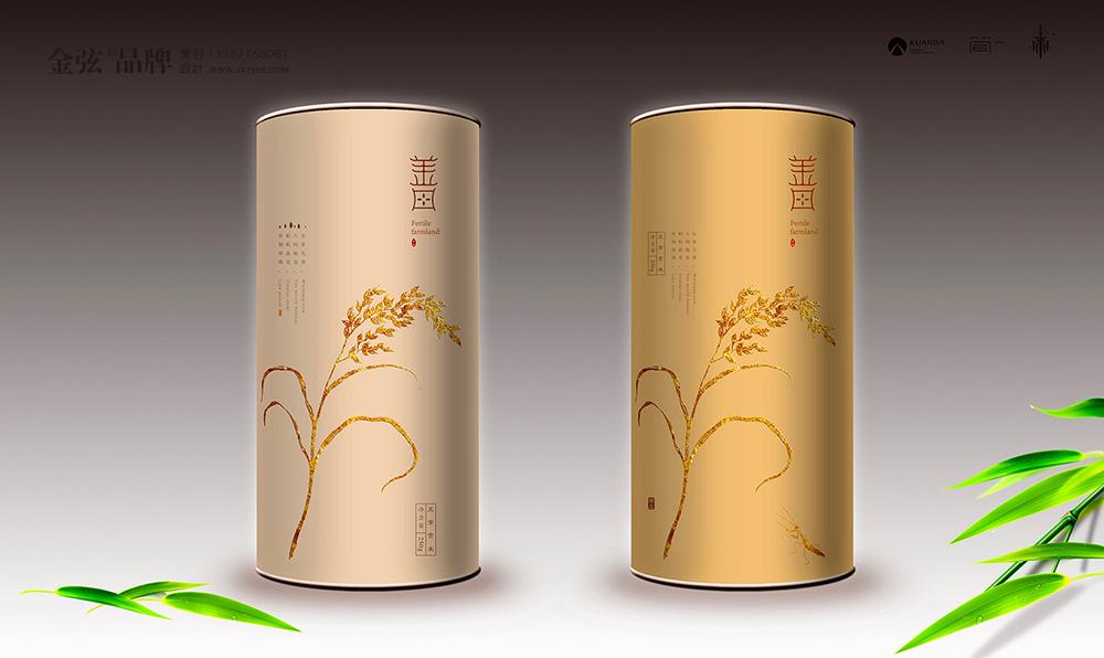 五常大米包装设计善田大米 包装设计 未命名  第7张