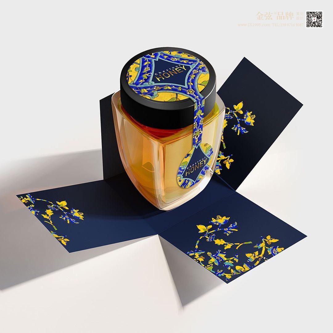 云南昆明hot蜂蜜包装设计 昆明特产包装设计 食品包装设计 包装设计  第2张