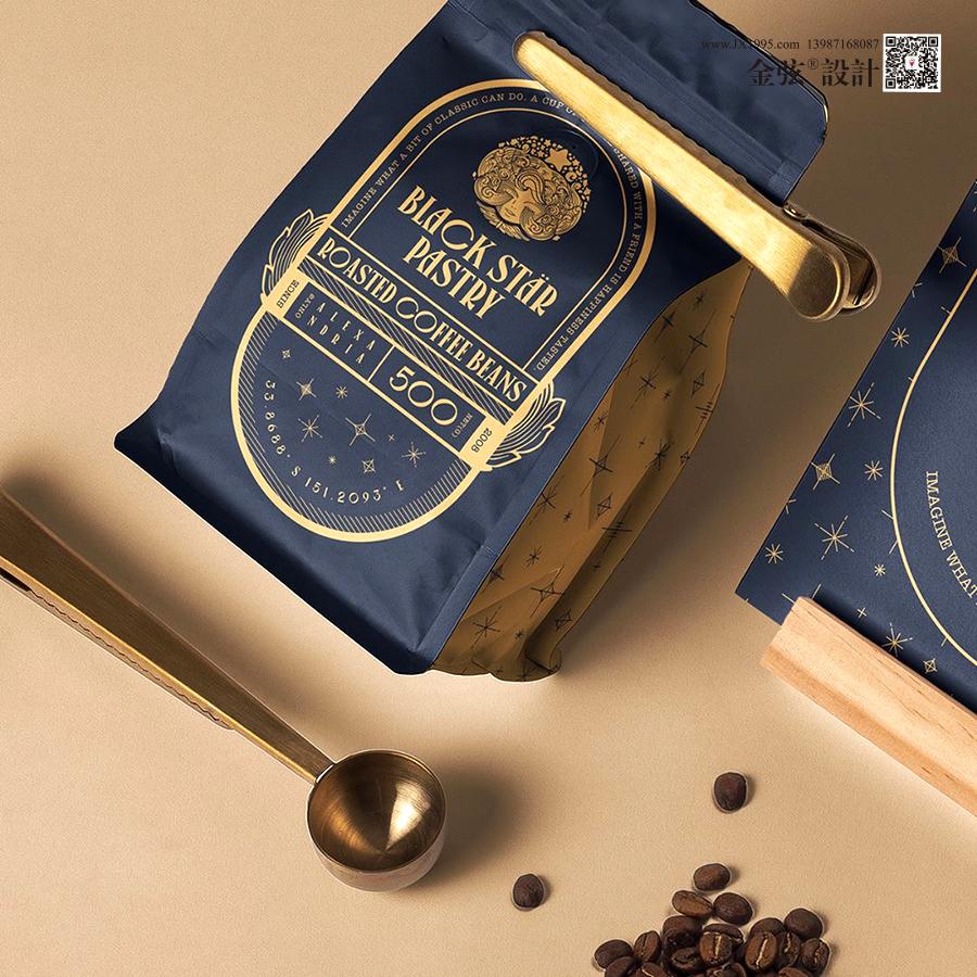 云南昆明黑塞咖啡公司logo设计vi设计 食品包装设计 食品logo设计 食品电商设计 土特产包装设计 土特产logo设计 土特产电商设计 昆明特产包装设计 logo设计 vi设计  第5张