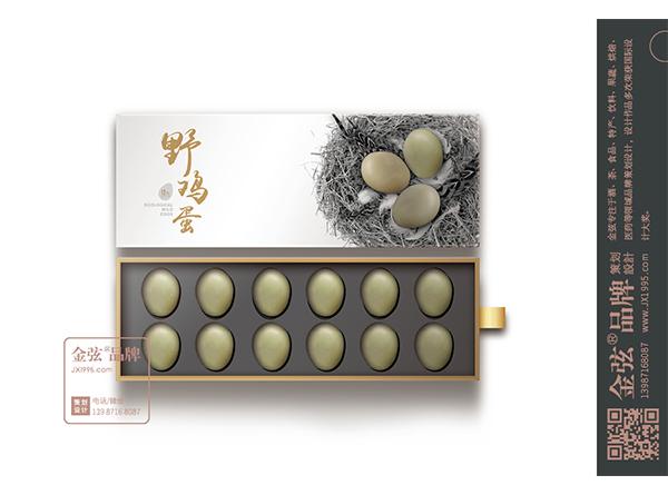 吉姬野鸡蛋包装设计
